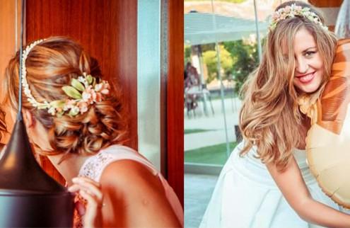 Especial peinado de novia